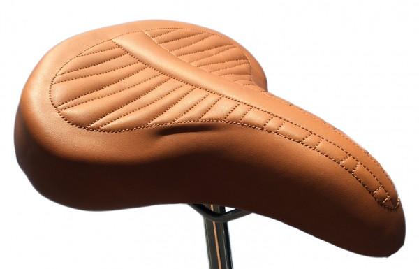 70s Cruiser Saddle Classic Alfa Italy brown