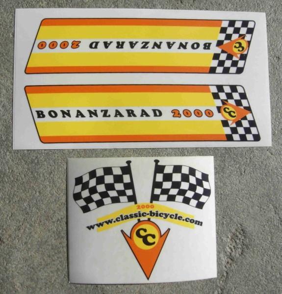 Stickerset Original Baonazarad 2000