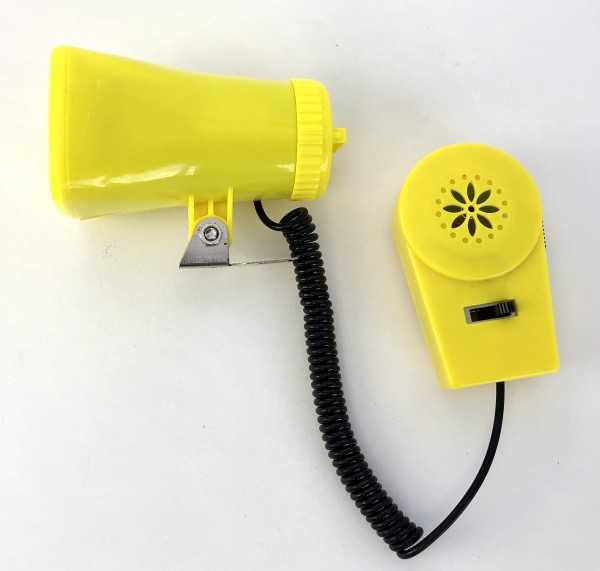 Kojak Battery Siren with Megaphone