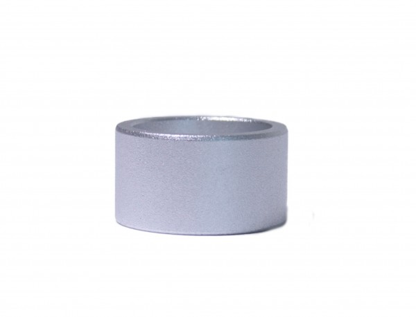 Spacer 15 mm 1 1/8 alu silver