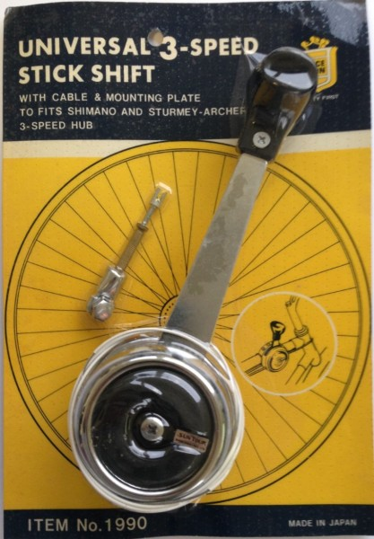 Vintage Bicycle shifter suntour 3-speed
