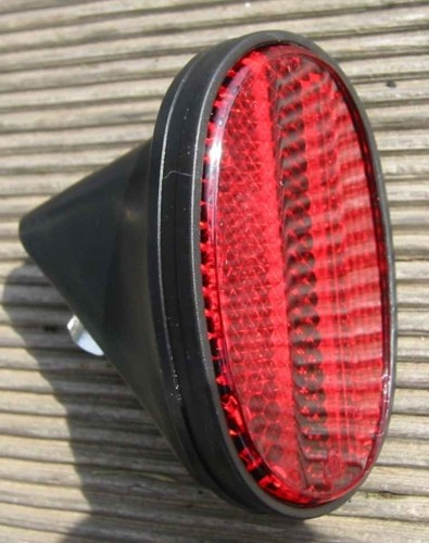 Oval Reflector, black