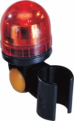 Rearlight black swiveling