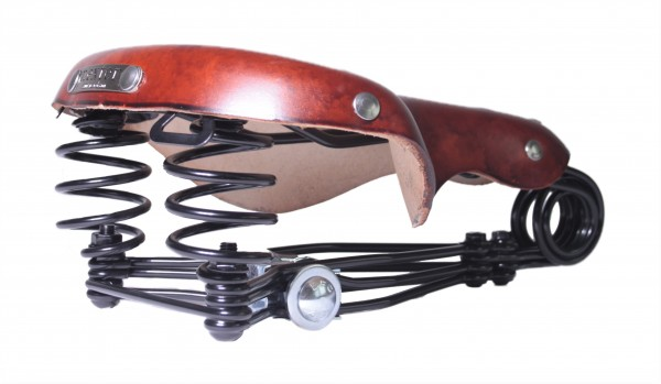 Leather Saddle Nexter Redbrown