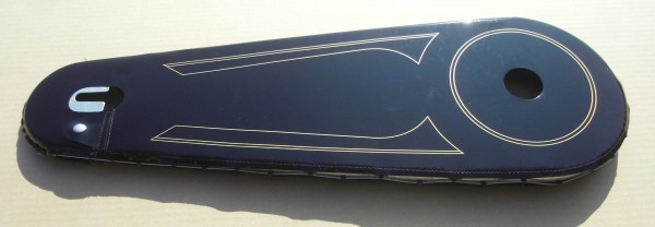 Full Chainguard 28 Varnished Cloth Black with gold lines