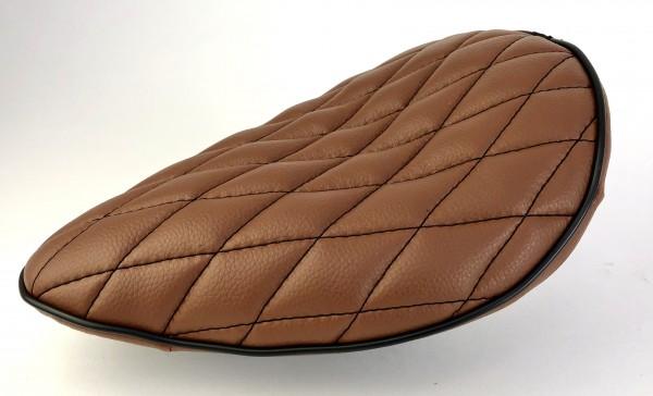Board Tracker Saddle brown with black diamand seams