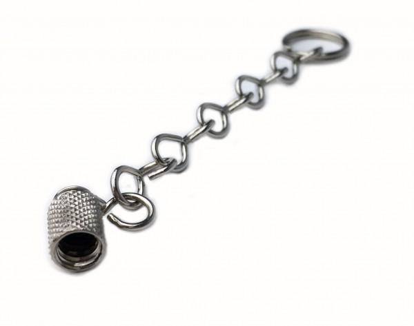 Valve - Metal - Cap on a Chain 1 piece