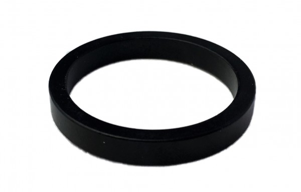 Spacer 5 mm 1 1/8 alu black