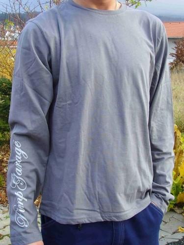 "Longsleeve-Shirt ""PG"", light grey"