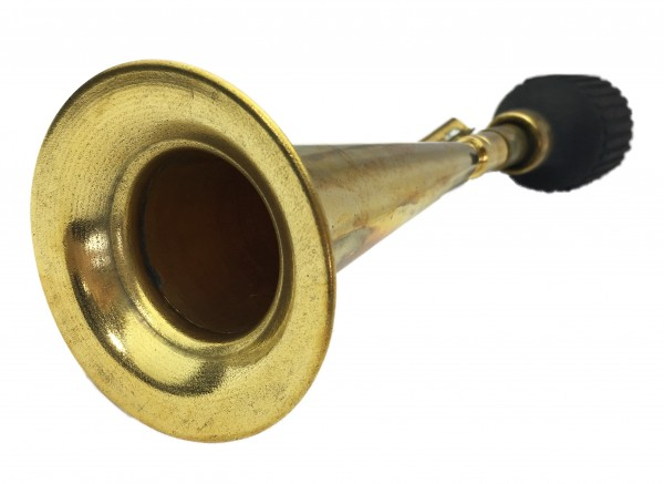 Kone and long Horn Brass with bottle shaped bulb