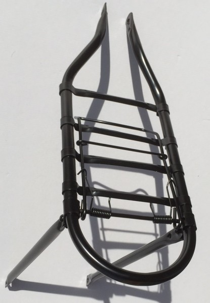 Carrier / Pannier Rack, Old Style black for 28