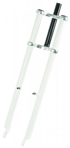 Double Crown Fork 64 white 1 1/8 steerer