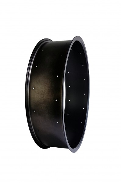 Alu rim 24 inch 147 mm black