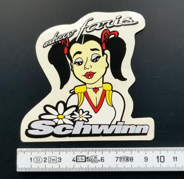 Original Schwinn Sticker