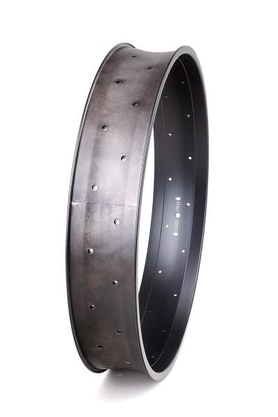 Alu rim 24 inch 102 mm 32 holes black matte
