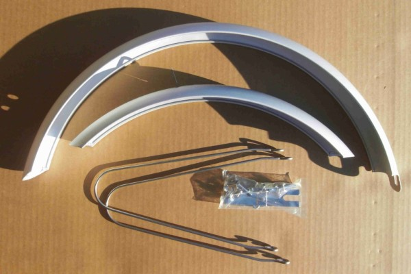 Alu Fender Set 20 inch. for Folding and Polo Bikes