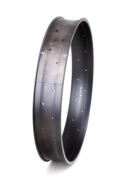 Alu rim 26 inch 102 mm 32 holes black matte