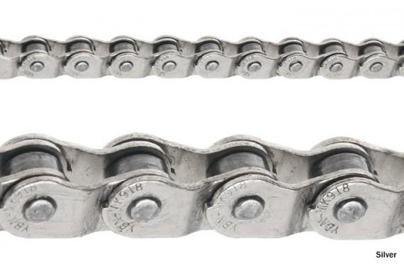 Halflink Chain 1/2 x 1/8 silver
