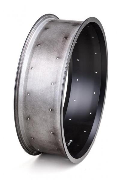 Alu rim 20 inch 132 mm 32 holes black matte