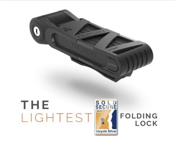 VOXOM bicycle lock folding lock compact