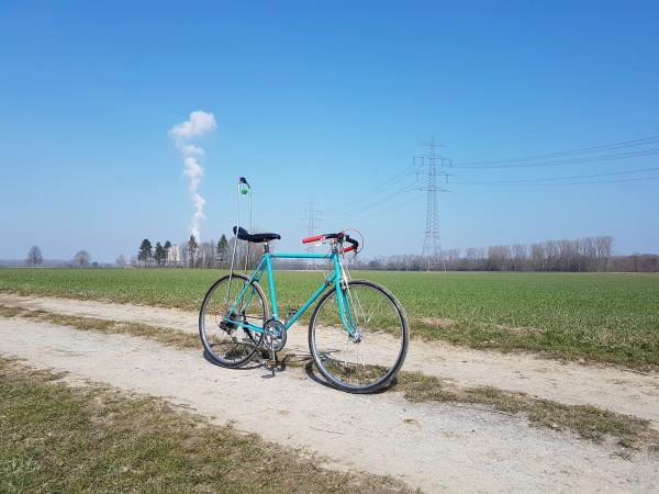 Gabelverstärkung Classic für 28//26 Zoll-Fahrräder verchromt