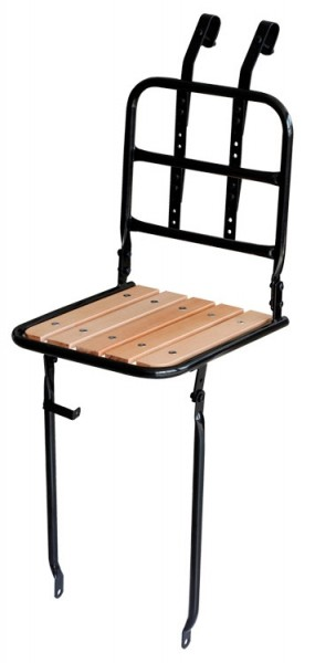 Front Tray Steel / Wood Carrierfor 24, 26, 28 inch black
