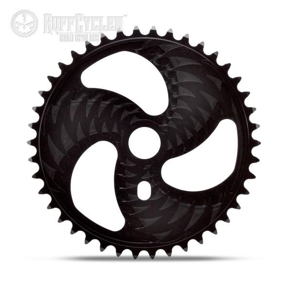 ALU Black Chain Ring Firebikes Thunderbolt 42 T