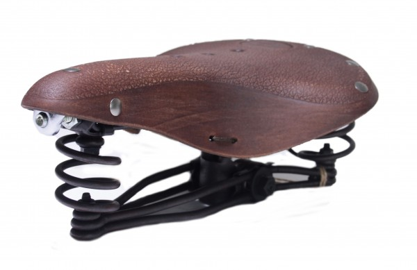 Classic Leather Saddle Classic Cycle, brown Antique Look
