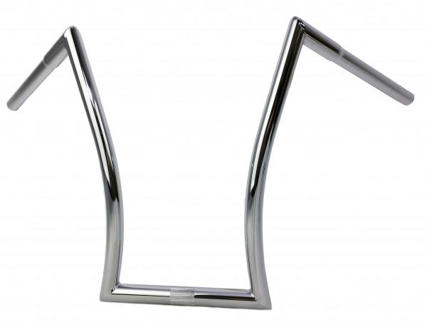 Breezer Horn Bar Handlebar L, chrome plated