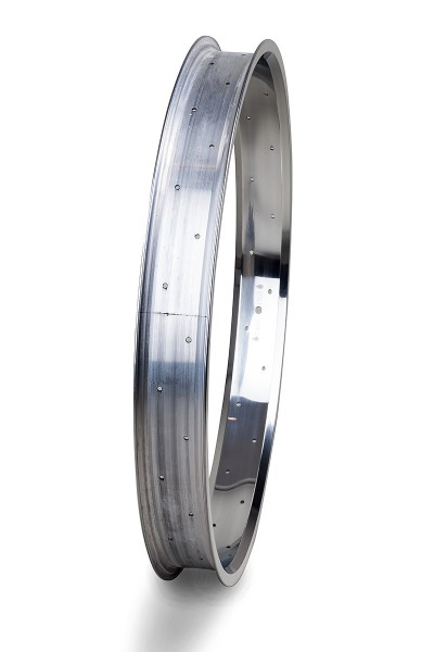 Alu rim 26 inch 67 mm high polished