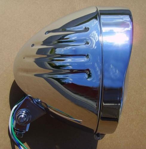 Big Headlight Motobike, chrome