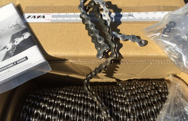30 meters of Chain 1/2 x 1/8 roll