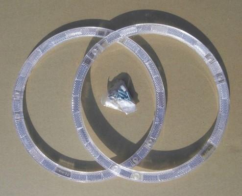 Circle Spoke - Reflectors white