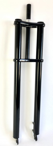 Double Crown Fork 69 black glossy