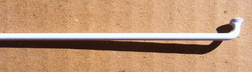 Spoke 2.0 x 228 white