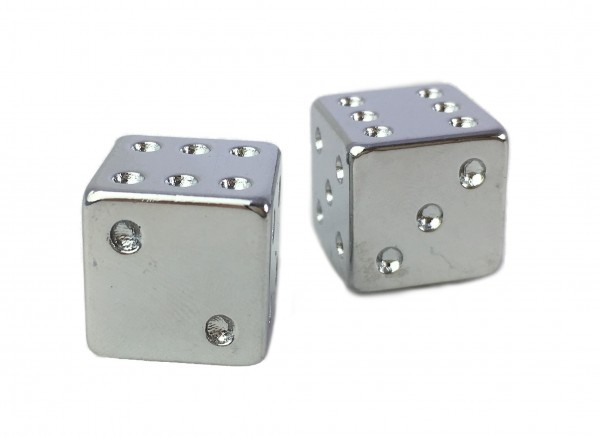 Valve Caps Dice, CP, flat on 1